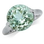 5.45ct. Natural Green Amethyst 925...