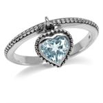 1.08ct. Dangle Genuine Heart Shape...