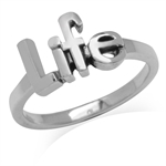 9MM 925 Sterling Silver LIFE Casua...
