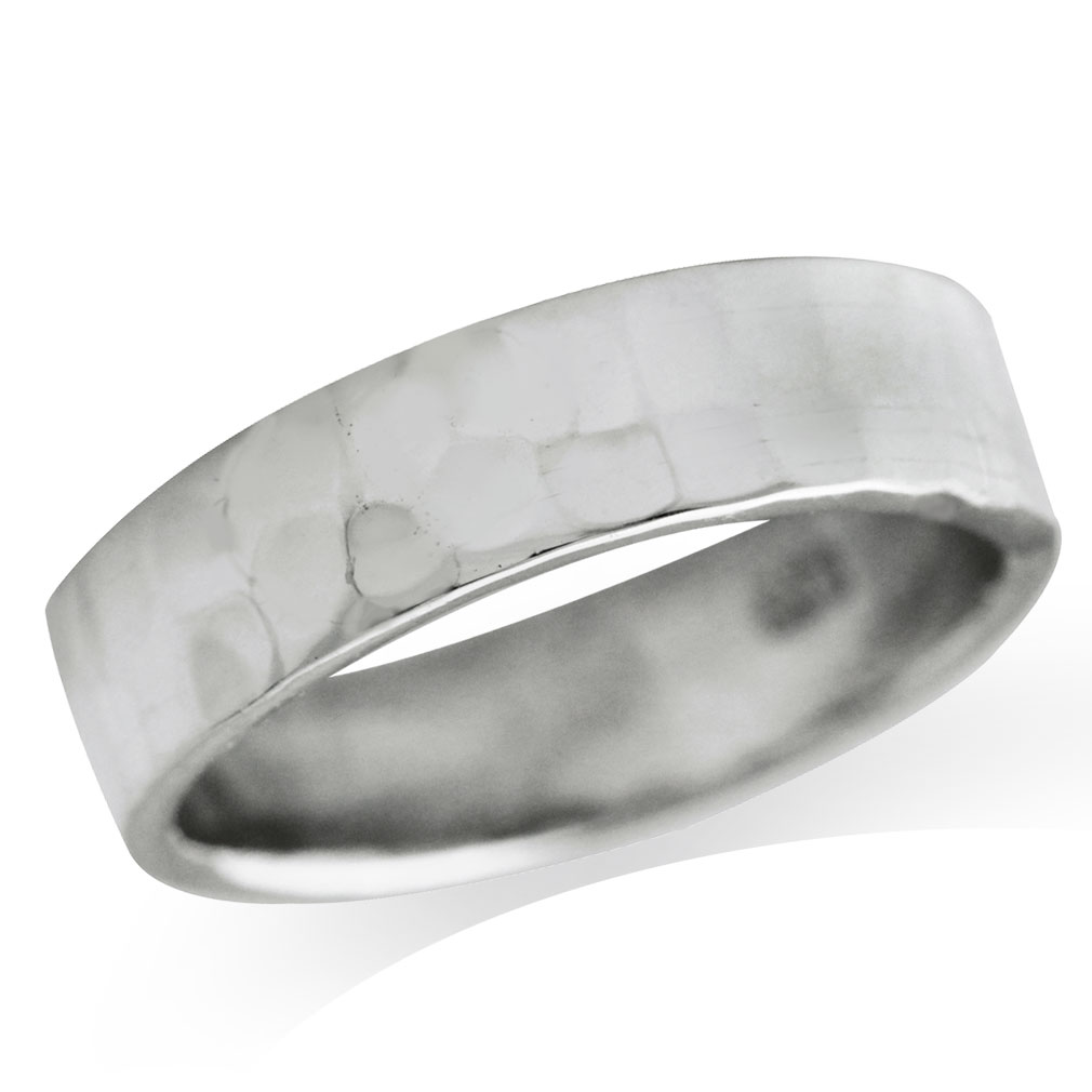 5mm hammered 925 sterling silver band ring ebay