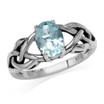 1.5ct. Genuine Blue Topaz 925 Ster...