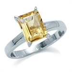 1.4 CT  8x6MM Genuine Octagon Shap...