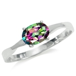 Mystic Fire Topaz 925 Sterling Sil...