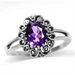 1.13ct. Natural African Amethyst 9...
