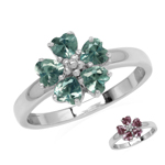 Simulated Color Change Alexandrite...