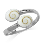 Shiva Shell White Gold Plated 925 ...