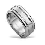 8MM Unisex Stainless Steel Modern Wide Band Ring