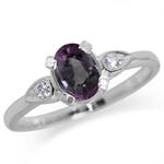 Color Change Alexandrite Doublet &...
